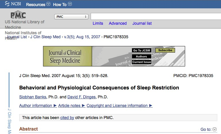 dental medicine providers no more snoring NCIB consequences of sleep deprivation