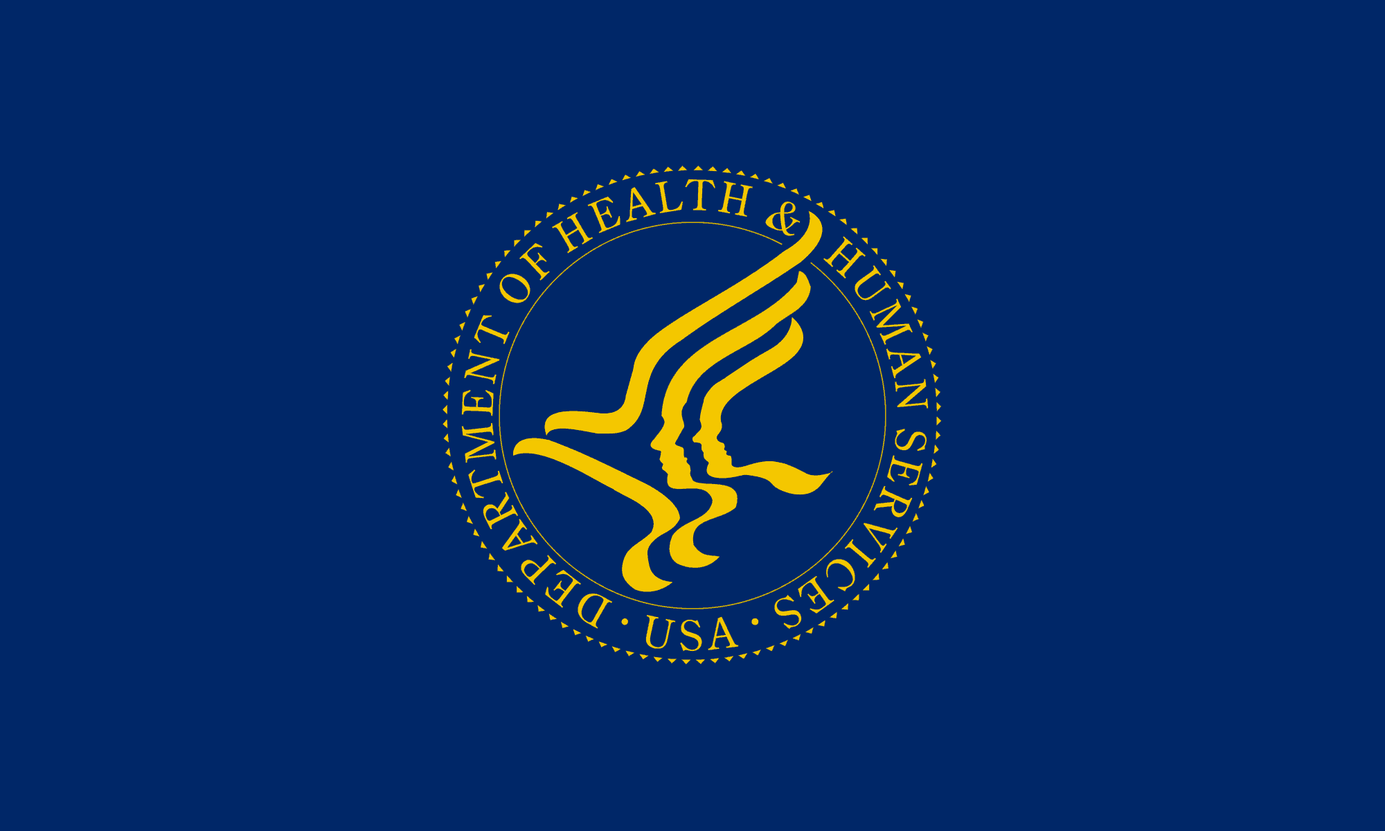 flag of the united states department of health and human services